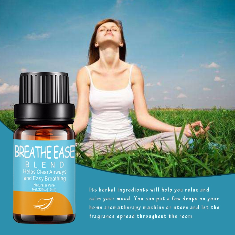 10ml Improve Sleep Quality Essential Oils Anti-stress Soothe Emotion Aroma Diffuser Oil