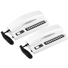 Wireless Intercom System Real Time for Home House Business Office, Two -Way Room to Room Intercom Communication, 1000M Range