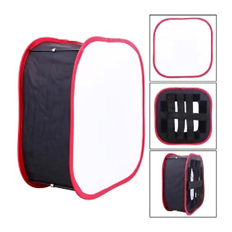Portable Collapsible Softbox 40x40cm Lighting Photography Softbox For Studio LED Light Panel  For Yongnuo YN600 YN900