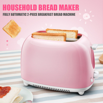 Easy to Clean Nonstick Sandwich Maker 2 Slice Wide Slot Toaster Home Automatic Breakfast Machine TN99 1