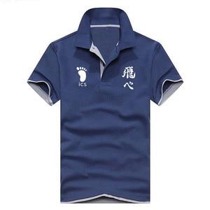 Image 2 - قميص بولو الرجال عالية الجودة الرجال القطن قصير الأكمام الصيف قميص ماركة الفانيلة Polos بولو أوم Lncrease حجم الرجال الملابس
