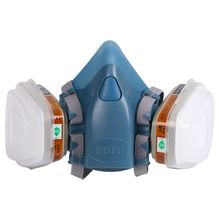 Full Facemask Respirator Painting Spraying Face Gas Mask 5N11 501 For 3M 7502 6001 E65A
