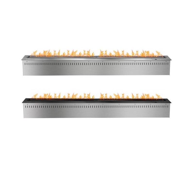 60 inch remote control smart fire place - 3