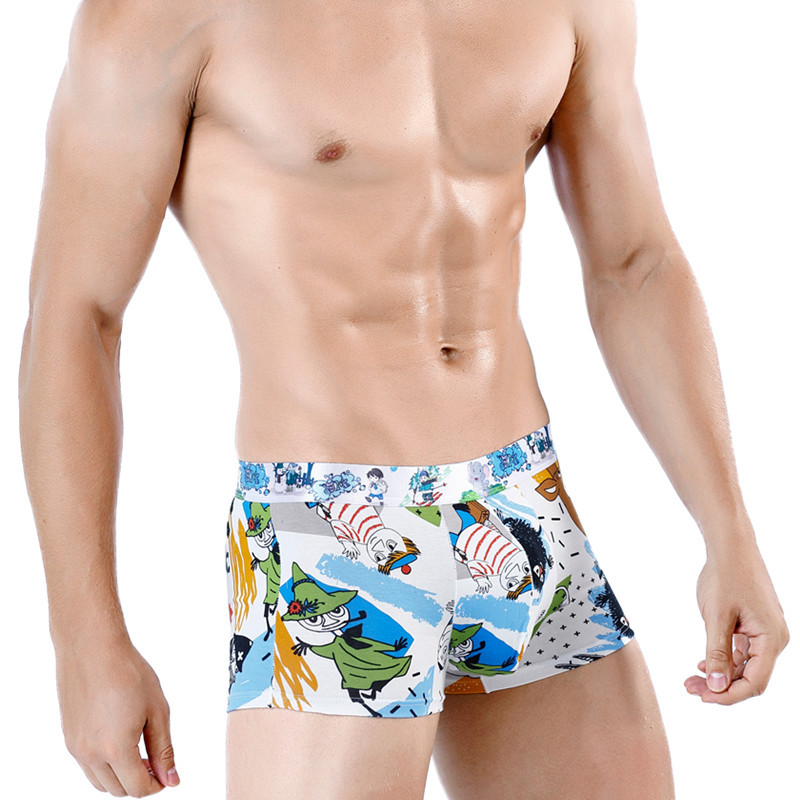 [Bloom the love] Brand New Hot Boxer Men Underwear Mens Cuecas Masculina Calzoncillo Man Boxers Male Boxershorts Size L-3XL 0923