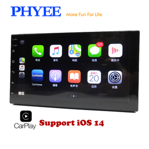 Car Radio 2 Din Apple Carplay Navigation Mirror Link MP5 Player Bluetooth Handsfree A2DP Double USB Stereo System Head Unit X3
