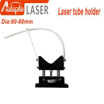 CO2 Laser Tube Holder Support Mount Flexible  60-80mm for 50-180W Laser Engraving Cutting Machine smartrayc co2 laser tube holder support mount flexible plastic 50 80mm for 50 180w laser engraving cutting machine model a