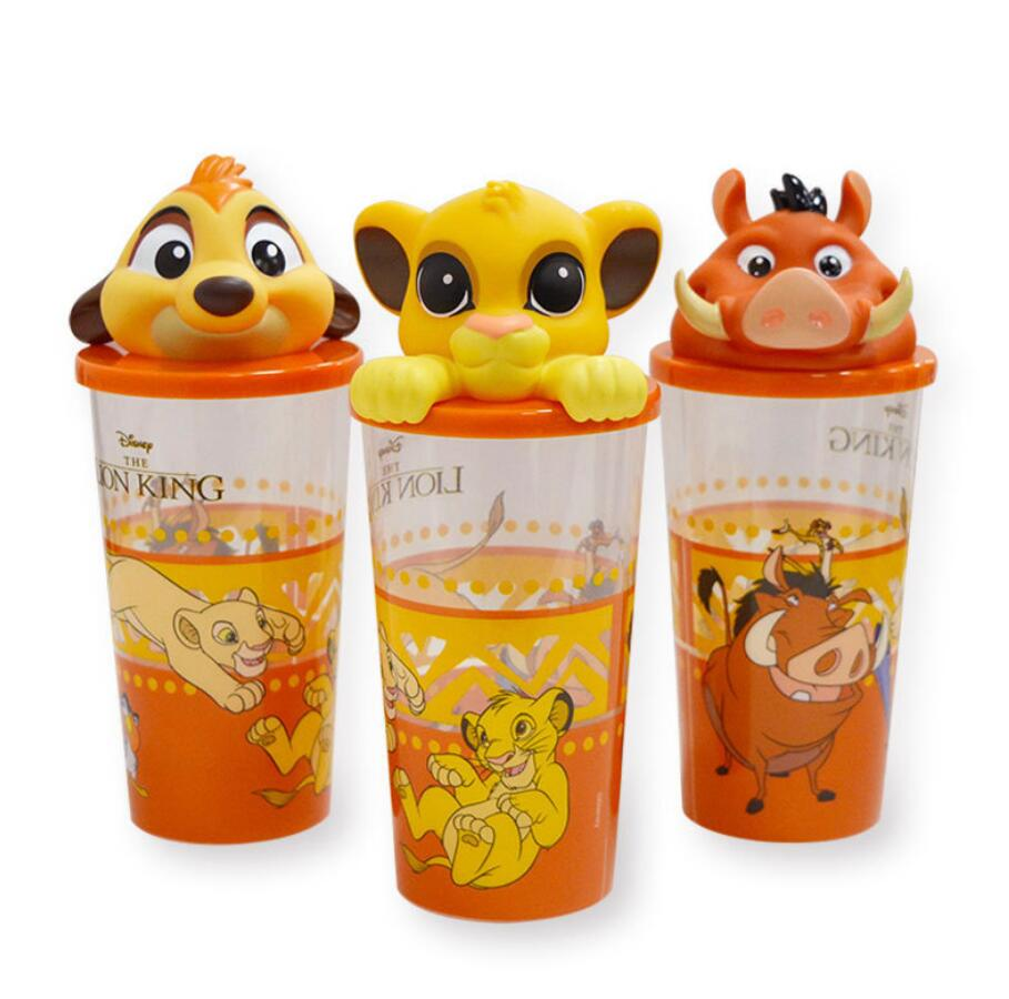 New Moive The Lion King Figure Simba Toys Rey Leon Figura Cup Toys Rio Lion Bottle Decorations For Kids Christmas Birthday Toys