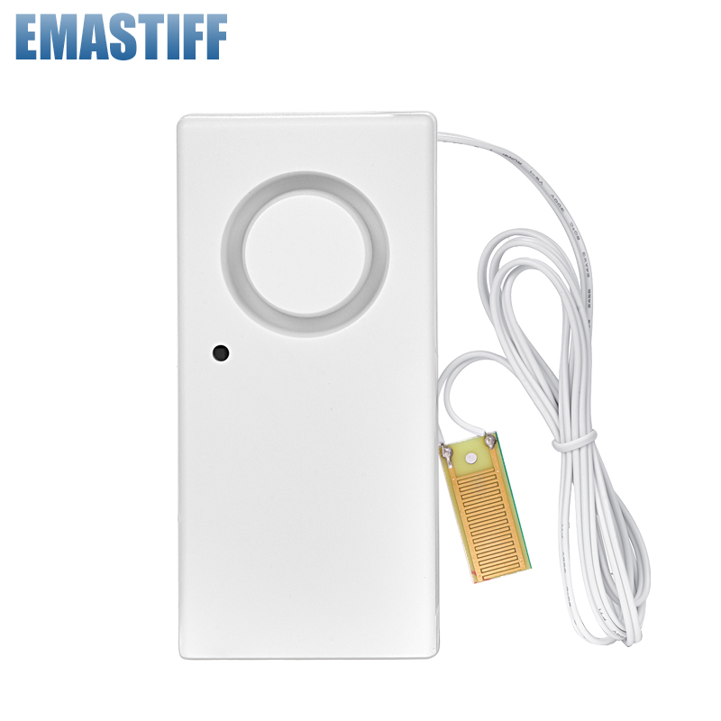 Home Alarm Water Leakage Spot Alarm Detector Independent Water Leak Sensor Detection Flood Alert Overflow Security Alarm System