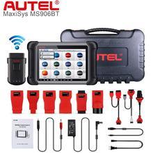 Autel MaxiSys MS906BT סריקה כלי OBD2 אוטומטי סורק Automotivo אבחון כלי עם ECU קידוד פעיל מבחן טוב יותר מ MS906 & MK906