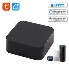 חכם WiFi IR שלט רחוק WiFi (2.4 Ghz) מופעל אינפרא אדום שלט אוניברסלי מזגן טלוויזיה DVD מאוורר Tuya APP