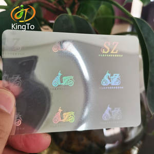 transparent holographic thermal laminating pouch for Certificates