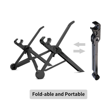 8 Height Adjustable Setting Laptop Notebook Macbook Stand Mount Holder Portable Tray Laptop Lazy Table Stand