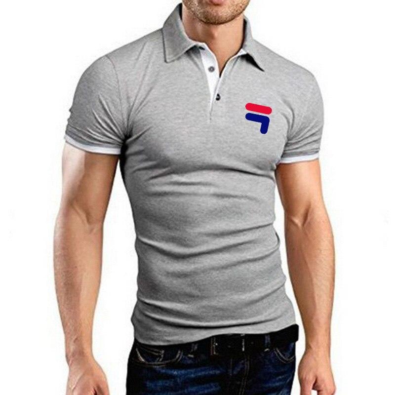 New Brand Men's Polo Shirt Men's Casual Sports Polo Shirt Men's Short Sleeve High Quantity Polo Men