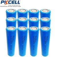 ICR18650 3.7V Liion Batterie ICR18650 2600mAh 18650 Batteria Ricaricabile Flat top Nessuna Protezione per la torcia, luci a led, lampada