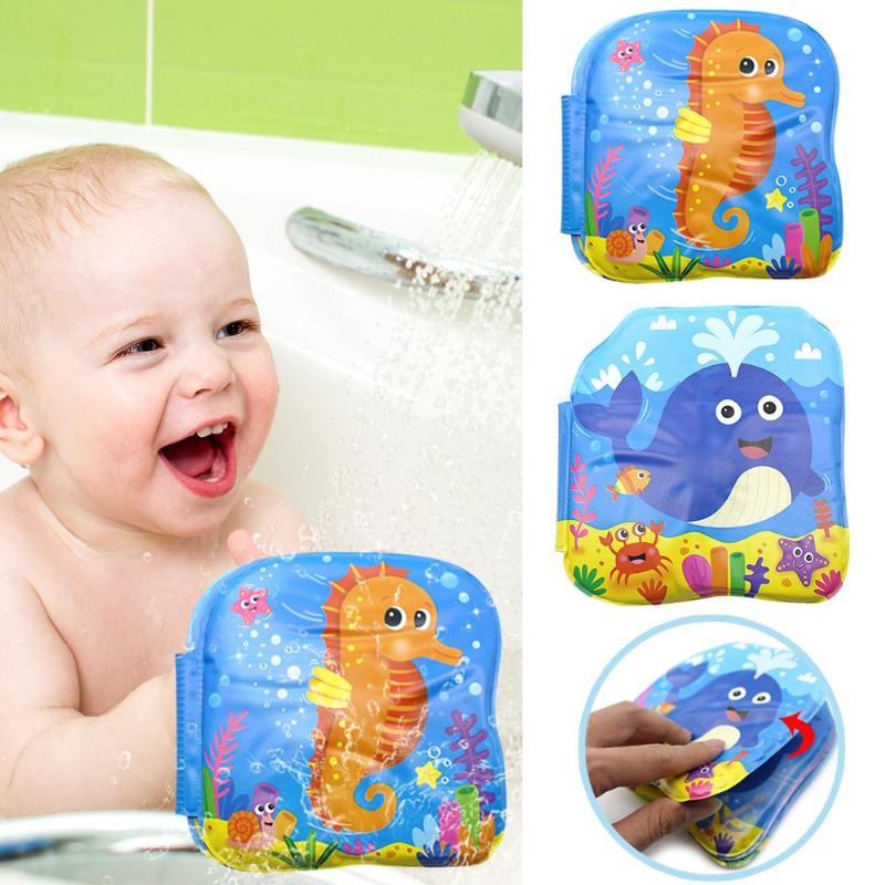 Baby Toys Bath Books Improving Focus Ability Bathroom Waterproof Book Long Service Life For Baby Swimming Bathing Toy