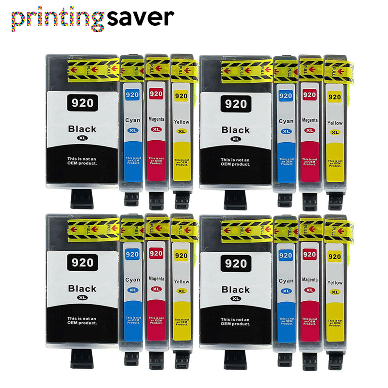 15 PACK 920XL HIGH YIELD 920 920XL Ink Cartridge for HP Printer WITH NEW CHIP