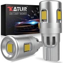 2 sztuk W5W LED T10 LED żarówki Canbus samochodów Parking pozycja światła oświetlenie wnętrza biały dla BMW Mercedes Benz Audi Honda Ford Toyota