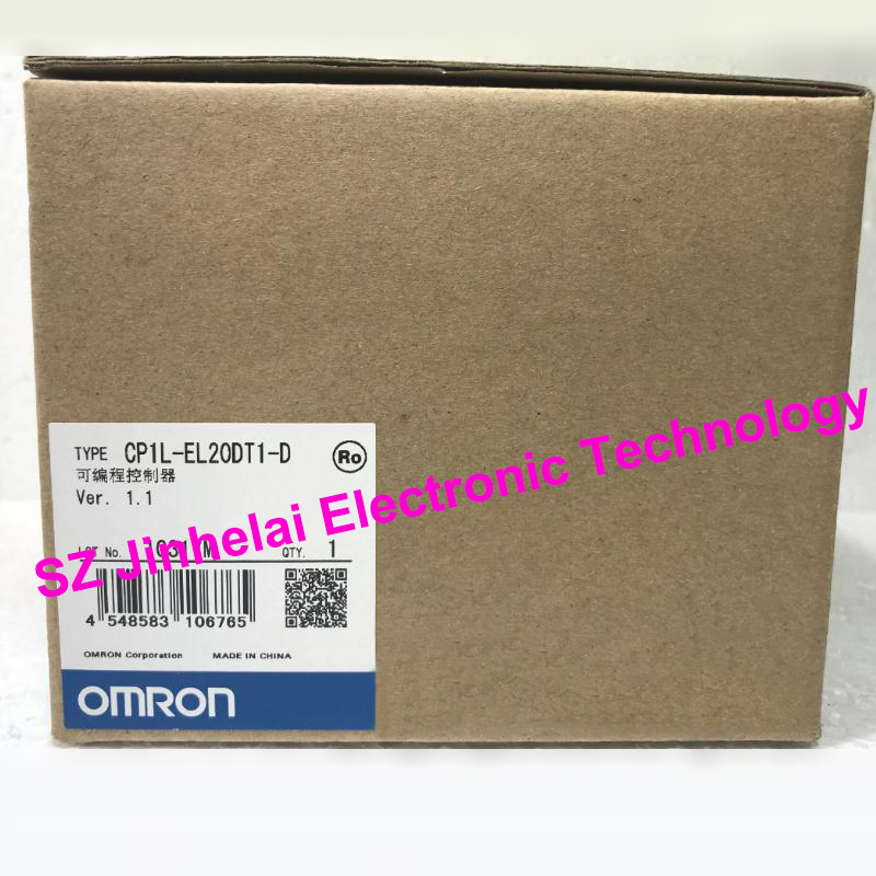 100% New and original CP1L-EL20DT1-D OMRON Programmable controller