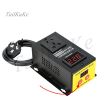 10000W high power SCR electronic voltage regulator thermostat motor fan electric drill variable speed governor 220V