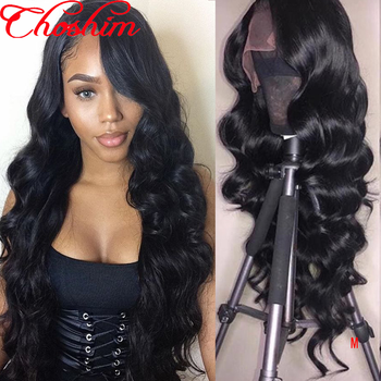 Brazilian Loose Wave 13x6/13x4 Lace Front Human Hair Wigs Choshim Remy Hair wig With Baby Hair Around 150% Density Natural Color - DISCOUNT ITEM  41 OFF Hair Extensions & Wigs