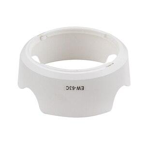 Image 5 - EW 63C לבן עדשת הוד פרח צורת כיסוי כובע מגן עבור Canon EOS 80D 850D 700D 100D 650D 600D 3000D 1500D 77D EF S 58mm