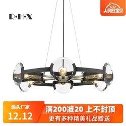 Nowoczesna luminaria wisząca szklana lampa piłka salon dekoracja wnętrz E27 oprawa oświetleniowa deco chambre w Wiszące lampki od Lampy i oświetlenie na