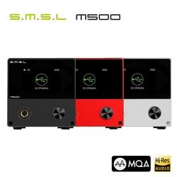 Original SMSL M500 DAC MQA ES9038PRO ES9311 XMOS XU-216 32bit 768kHz DSD512 Hi-Res Audio Decoder & Headphone Amplifier