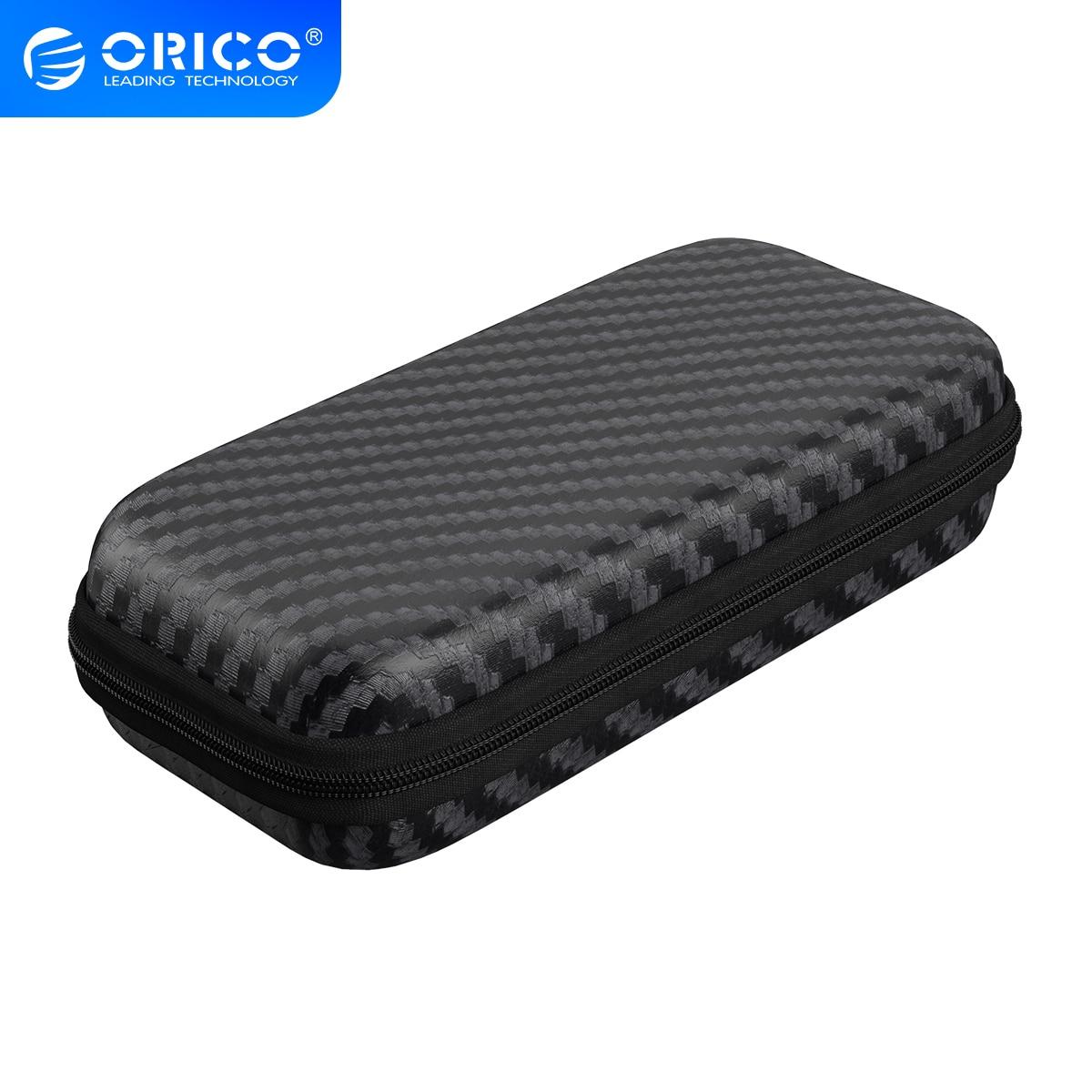 ORICO M.2 сумка для хранения жесткого диска EVA портативный HDD Чехол Коробка для жесткого диска Ударопрочный Футляр для внешнего жесткого диска Ч...
