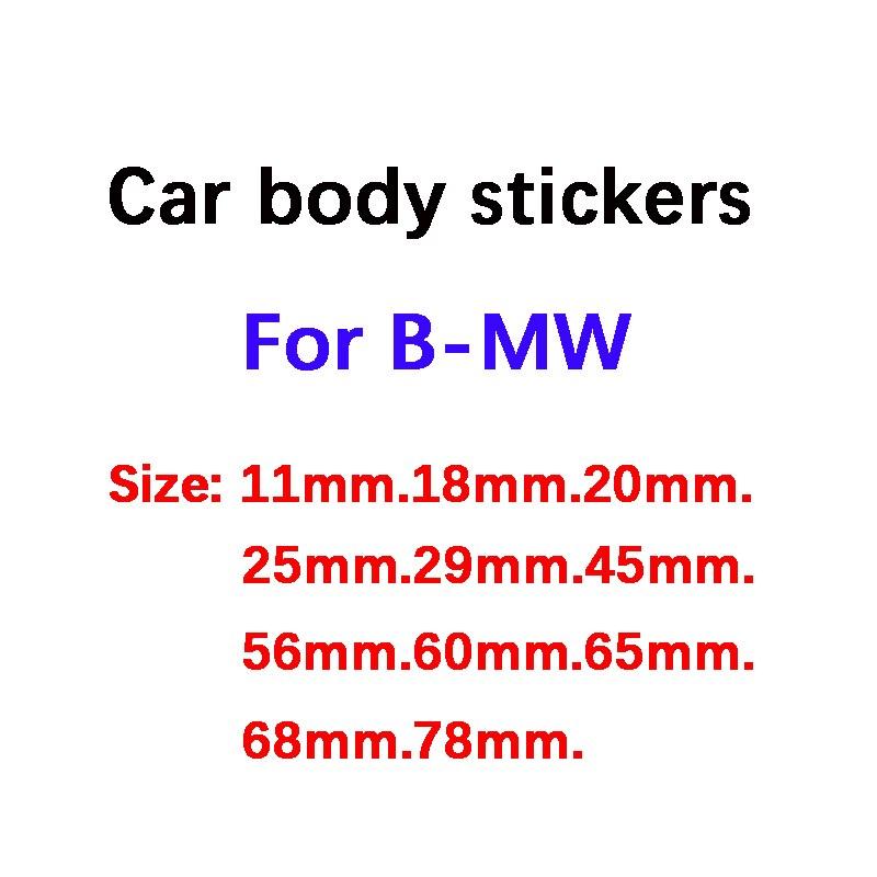 11 18 20 25 29 45 56 60 65 68 78 мм Автомобильная наклейка с эмблемой Bady для bmw F10 F20 F25 F30 E36 E39 E87 E60 E46 E90 X1 X3 X5 аксессуары