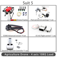 Dreameagle X4 10S 4 axis waterproof agricultural spraying drone flight platform 10L/10KG Folding Spray Quadcopter