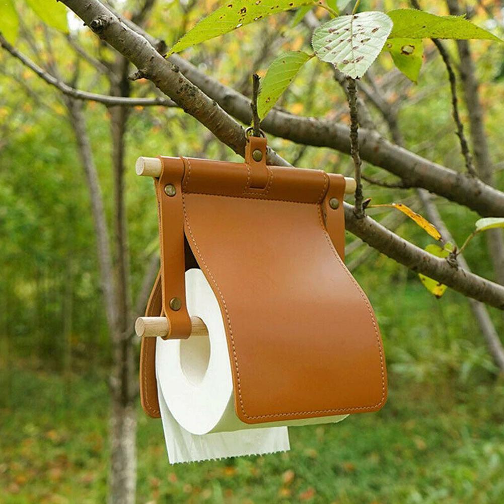 Портативная Вешалка из полиуретана для салфеток для отдыха на открытом воздухе, рулон для туалетной бумаги, подвесной рулон для палатки, де...