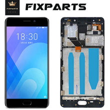 цена на Meizu M6 note LCD Display Touch Screen Digitizer Assembly Replacement Parts 1920*1080 For 5.5