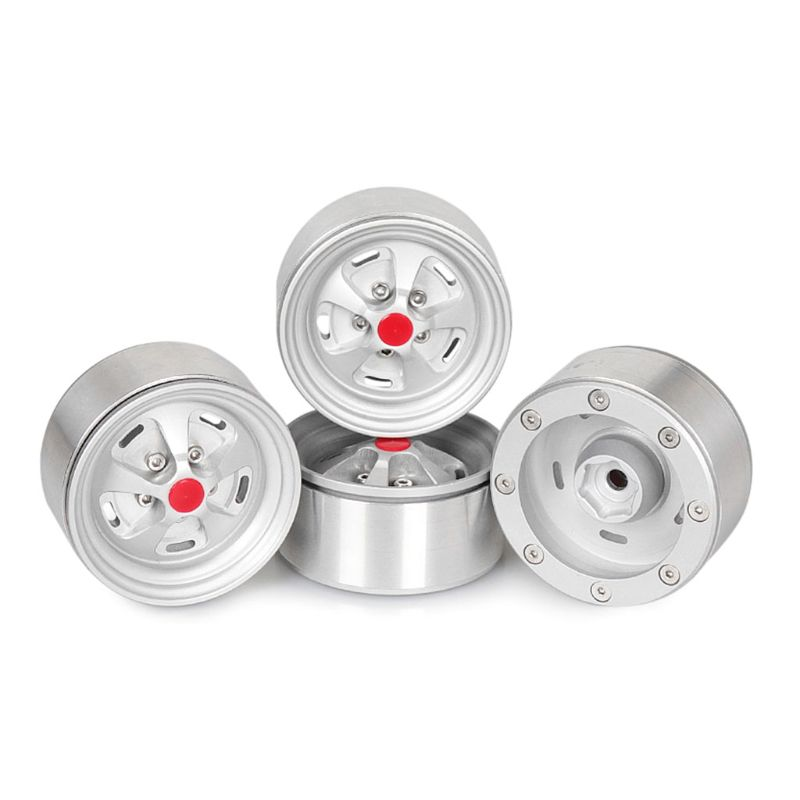 Premium Quality New 4Pcs Metal1 9 inch Wheels Rims for 1 10 RC Crawler Axial SCX10 II 90046 TRX 4 D90 RC Car Spare Parts in Parts Accessories from Toys Hobbies
