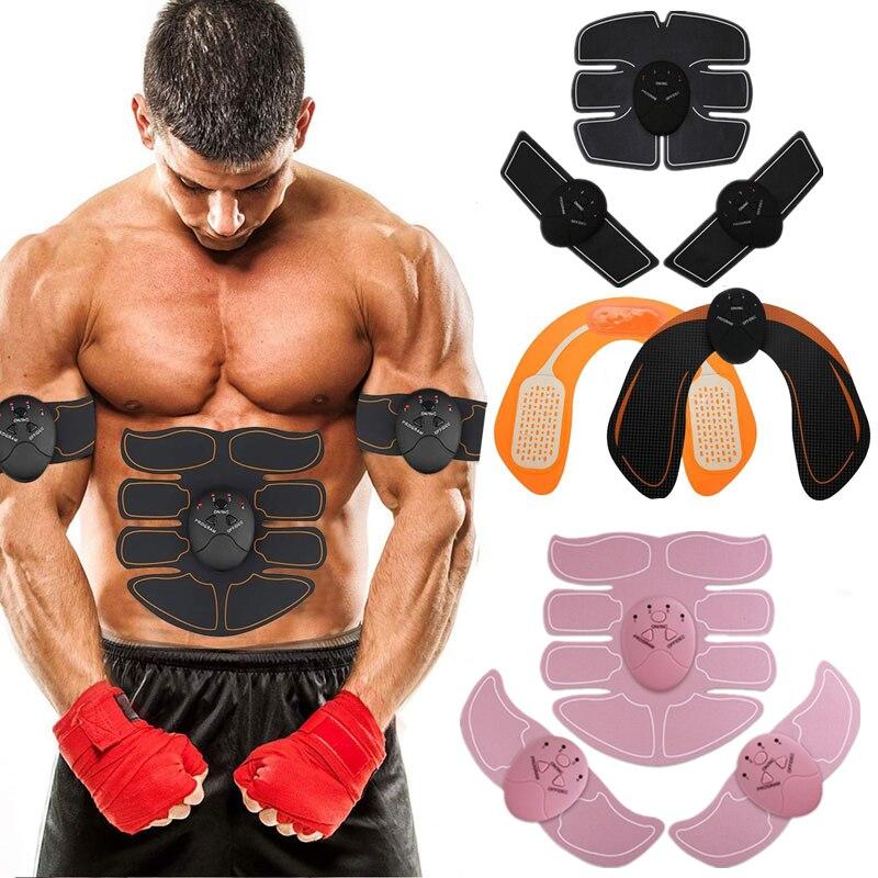 EMS Smart Muscle Trainer Abdominal ABS Stimulator Electric Muscle Stimulator Wireless Buttocks Hip Fitness Slimming Gel Massager|Abdominal Massage Instrument|   - AliExpress