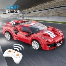Cada City – voiture de course télécommandée, blocs de construction compatibles MOC, technique RC, Super voiture de sport, briques, jouets cadeaux pour enfants garçons