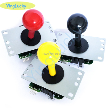 SANWA-mando con microinterruptor para máquina de juego de alta calidad, Color rojo,...