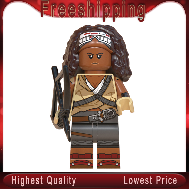 WM897 Jannah Finns The Rises Of Skywalkerman Legoinglys Stars Wars MinifigurINED Siths Troopers Building Blocks Model Kits Toys