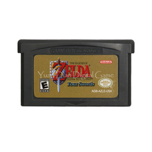 For Nintendo GBA Video Game Cartridge Console Card The Legend of Zeld A Link to the Past Four Swords English Language US Version