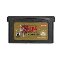 Voor Nintendo Gba Video Game Cartridge Console Kaart De Legende Van Zeld Een Link Naar De Afgelopen Vier Zwaarden Engels taal Ons Versie