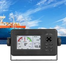 4,3 дюймов lcd комбо HP528 морской gps навигатор мульти-дисплей экран приемопередатчик с gps антенной морской gps навигация