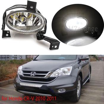 цена на MZORANGE 1/2pcs Front Fog Light Lamp LED for Honda CR-V 2010 2011 Front Bumper Fog Light Driving Lamp Fog Lamp Assembly