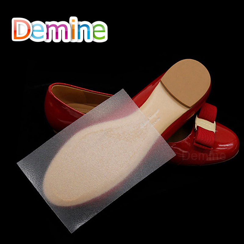 1 Pair Shoe Sole Sticker Anti Slip Tape For Sandals High Heels Shoes Transparent Self Adhesive Grips Outsole Protector Pad