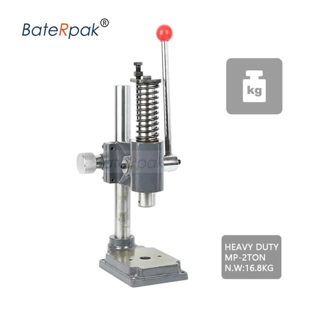 MP-2 Manuelle presse, BateRpak HOHE qualität starke heavy duty desktop manuelle presse maschine, kleine punch maschine, hand stanzen machie