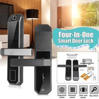 Smart Electronic Lock Fingerprint Door Lock Security Intelligent Lock Biometric Wifi Door Lock for Office Home House