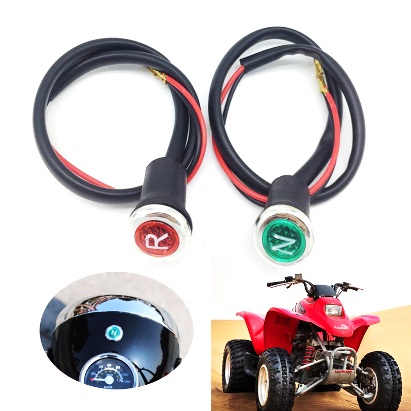 2 Pcs ATV Reverse & Neutral Light Indicator For 90/110/125/150/200/250/300cc ATV Quad Sunl/Taotao/Eagle/Loncin Etc DC 12V 2019
