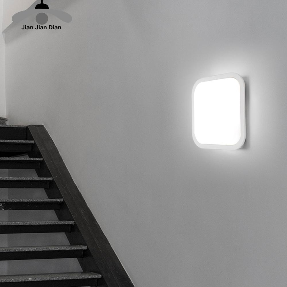Led Wall Light Surface Mounted Lighting Fixture 15W 20W Bathroom Living Room Kitchen 110V 220V IP65 Waterproof Outdoor La 1
