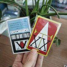 Tarjetas de PVC de Hunter x Hunter, tarjetas de Cosplay Hisoka Kurapika Killua Zoldyck, accesorios de colección