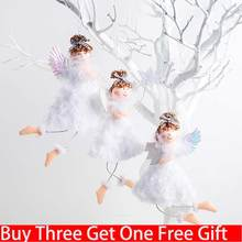 navidad Plush Angel Pendant Innovative Christmas Tree Decorations Closet Hanging Ornaments For Home