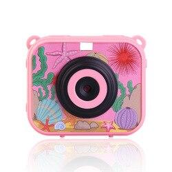 Childrens Camera Digital Video Camera 1080P HD Drop Proof Drop Proof Waterproof Portable Child Mini Camera 2.0 Inches