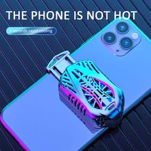 New Mobile Phone Cooler Radiator Gaming Universal Phone Cooler Adjustable Portable Fan Holder Heat Sink For Xiaomi Xiao Mi 10